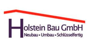Sponsorenlogo Holstein Bau GmbH