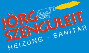 Sponsorenlogo Szenguleit Heizung Sanitär
